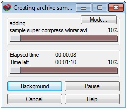 Tutorial Super Compress Winrar
