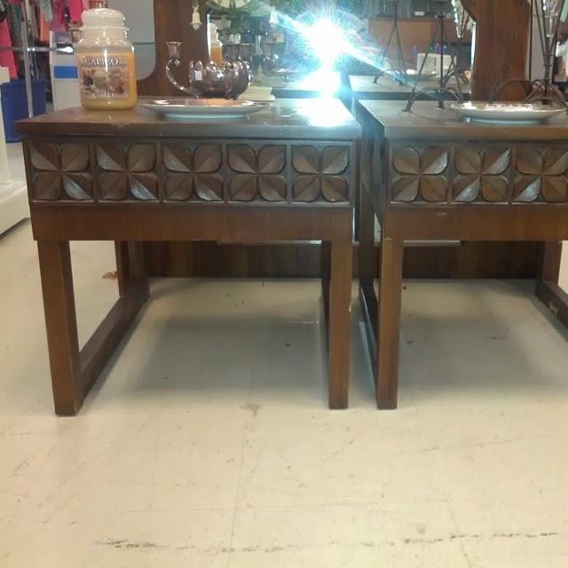 #thriftscorethursday Week 5 | TSFinds Clover Tables