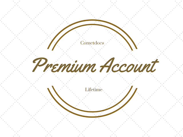 Lifetime Premium Accounts for Cometdocs : Giveaway
