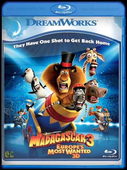 [Min-HD] Madagascar 3 : Europe s Most Wanted (2012) มาดากัสการ์ 3 ข้ามป่าไปซ่ายุโรป [1080p][Modified][เสียงไทย5.1+ อังกฤษ5.1]-[บรรยายไทย+อังกฤษ]