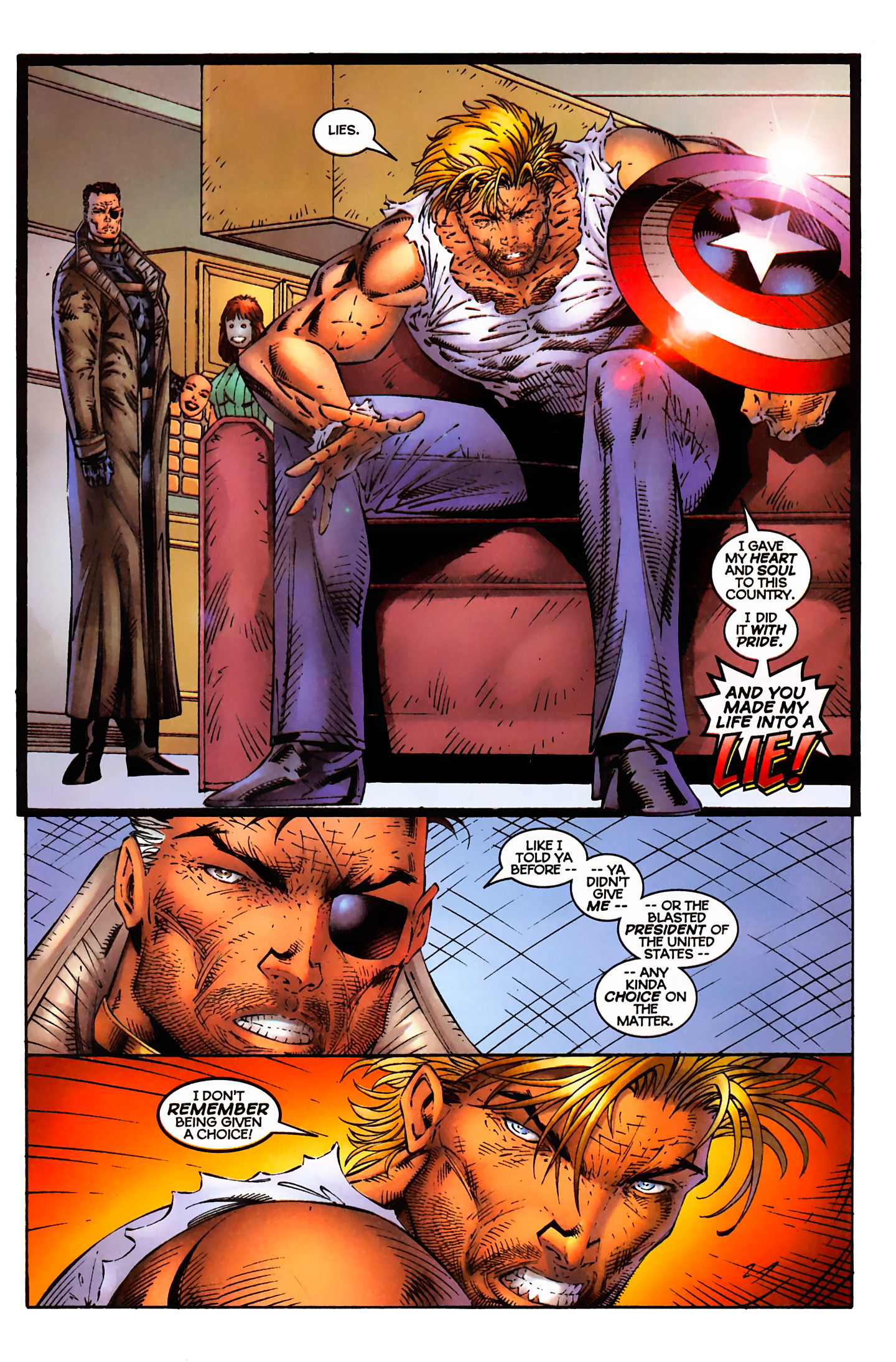 Captain America (1996) Issue #3 #3 - English 8