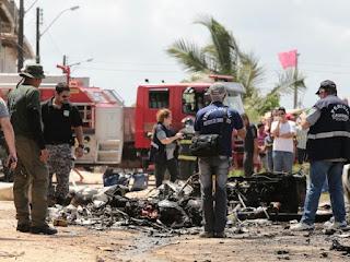 Helicóptero que caiu em Maceió tinha licença para voar até 2020, diz Anac