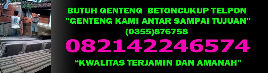 PRODUSEN/JUAL GENTENG NGLAYUR TRENGGALEK 082142246574