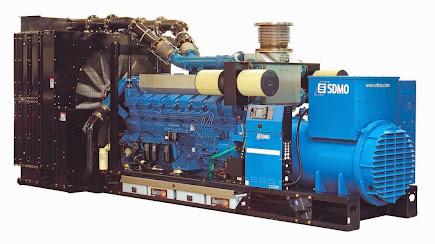 PLANTA ELECTRICA 1200 KW. SDMO