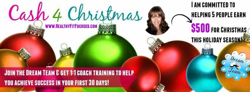 Cash 4 Christmas, Holiday Job, Make $500 by Christmas, Stay at Home Mom, Julie Little, www.HealthyFitFocused.com