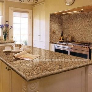Cocina decorando interiores page 3 for Precio de granito para mesada