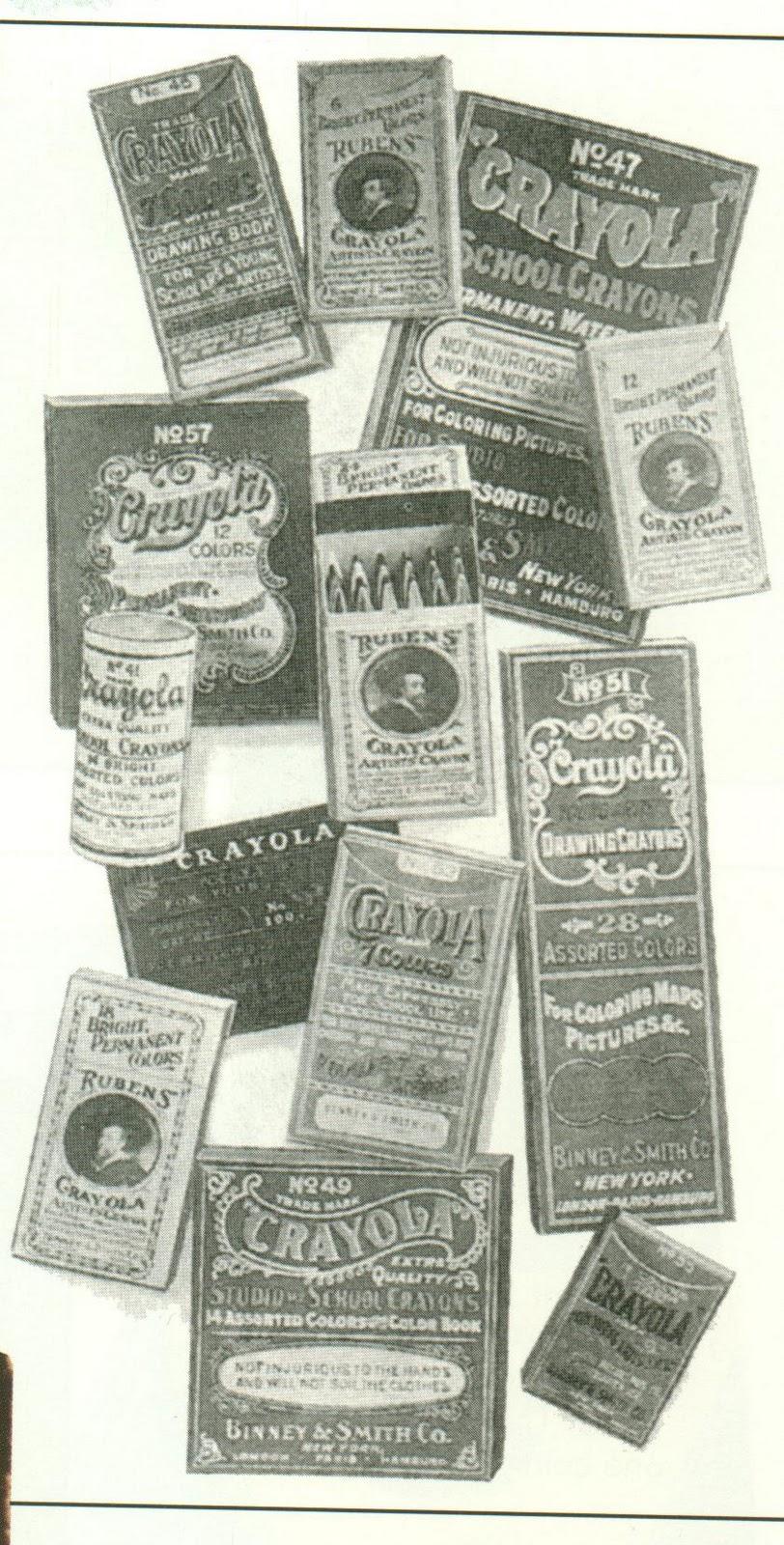 The Crayon Blog: The Crayola No 100 Box