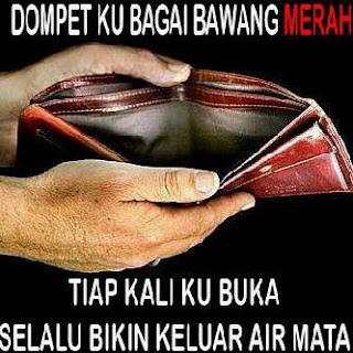 Gambar Dan Kata kata Bbm tiap kali buka dompet bikin keluar airmata