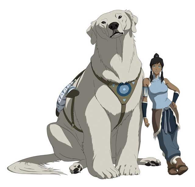 Naga and Korra