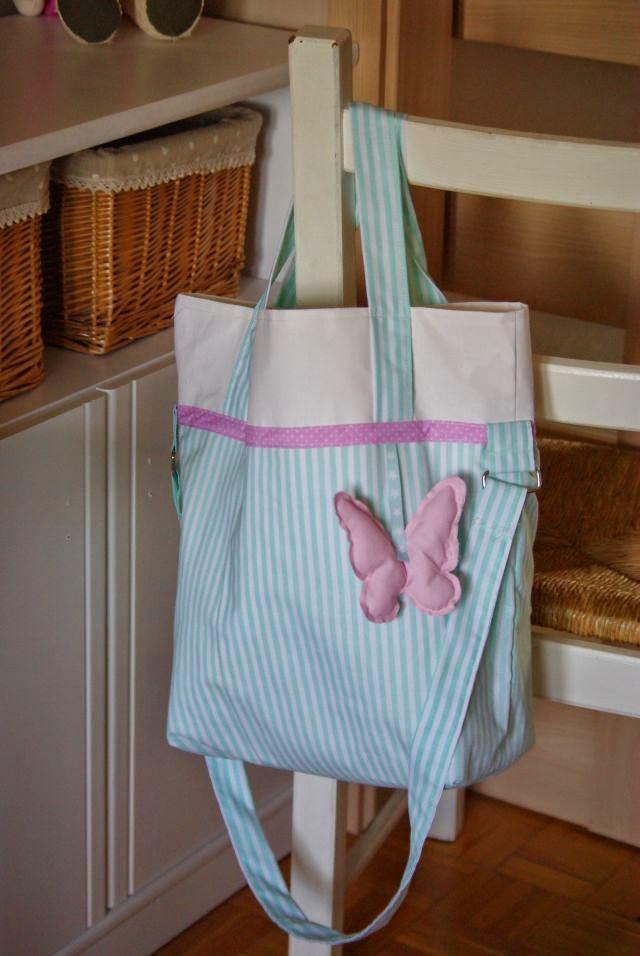 torba na zakupy rękodzieło , torba do wózka dzieciecego , torba na pieluszki