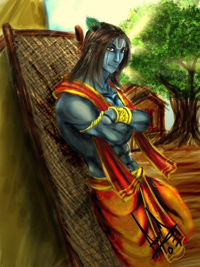 Krishna 8th avatar of lord vishnu