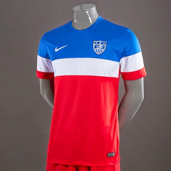 Jual Jersey Amerika Serikat Away Piala Dunia 2014 Murah