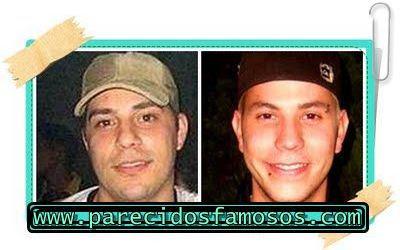 Parecido entre Evaristo Costa y Christian Chávez