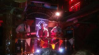 Il palco per la musica dal vivo al Porterhouse di Temple Bar, Dublino