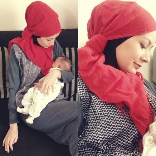 Memilih Padu Padan Busana Hijab untuk Ibu Menyusui