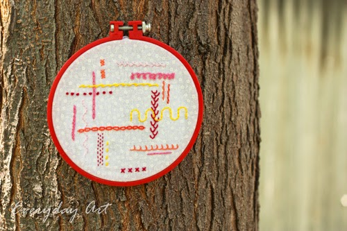 http://www.our-everyday-art.com/2014/07/embroidery-sampler.html