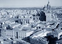 Vista aérea del centro de Salamanca