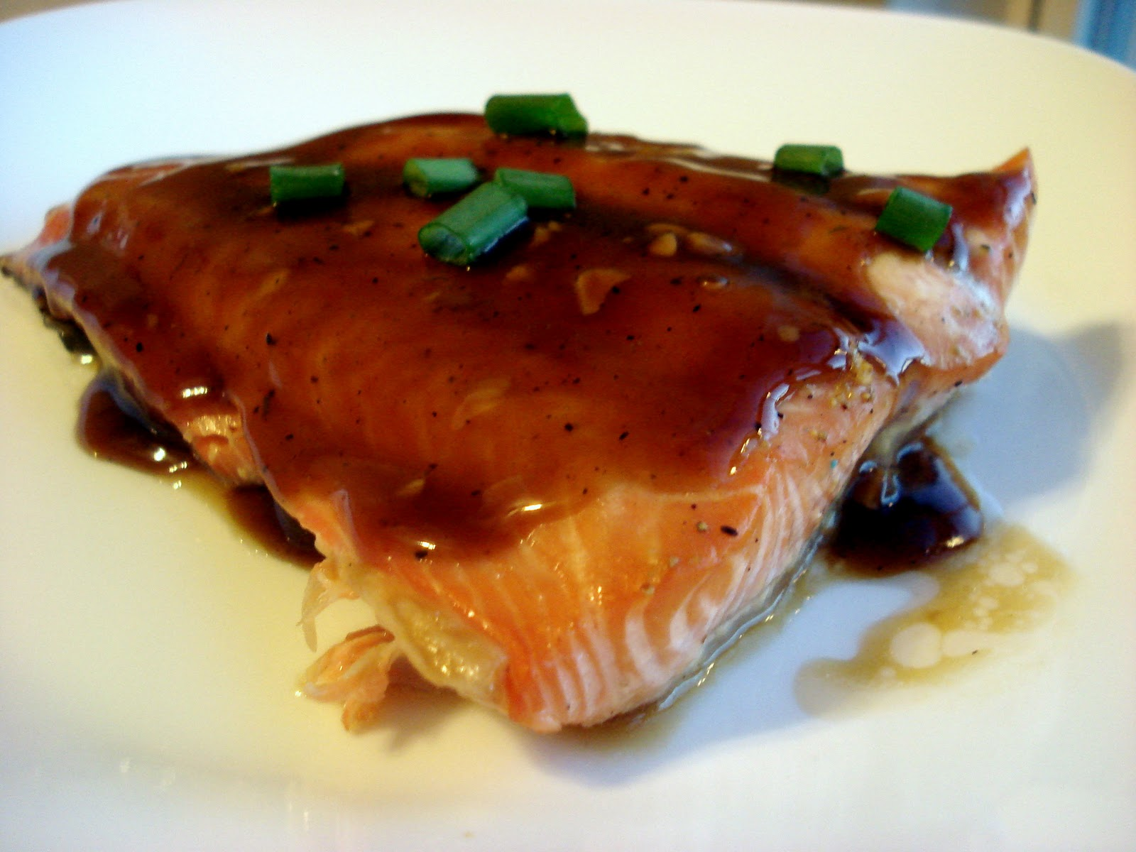 Bakestravaganza: Maple Glazed Salmon
