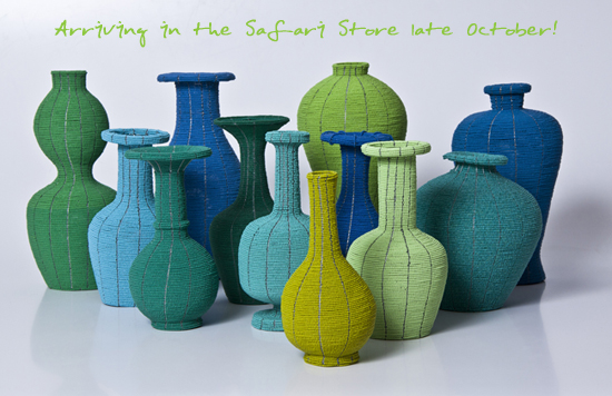 Safari Fusion blog | Blues & greens | Colour inspiration from the Indian Ocean | | African Bead Vases & Urns
