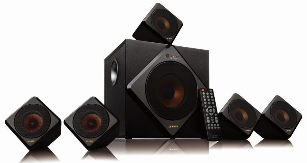 Buy F&D F3333U 5.1 Multimedia Home Theatre Speaker at Rs.4937  – Amazon