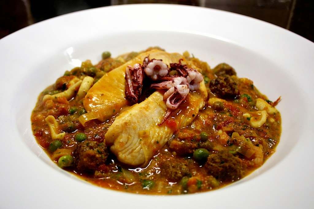 Rick Stein's Cuttlefish With Meatballs And Peas Recipes — Dishmaps