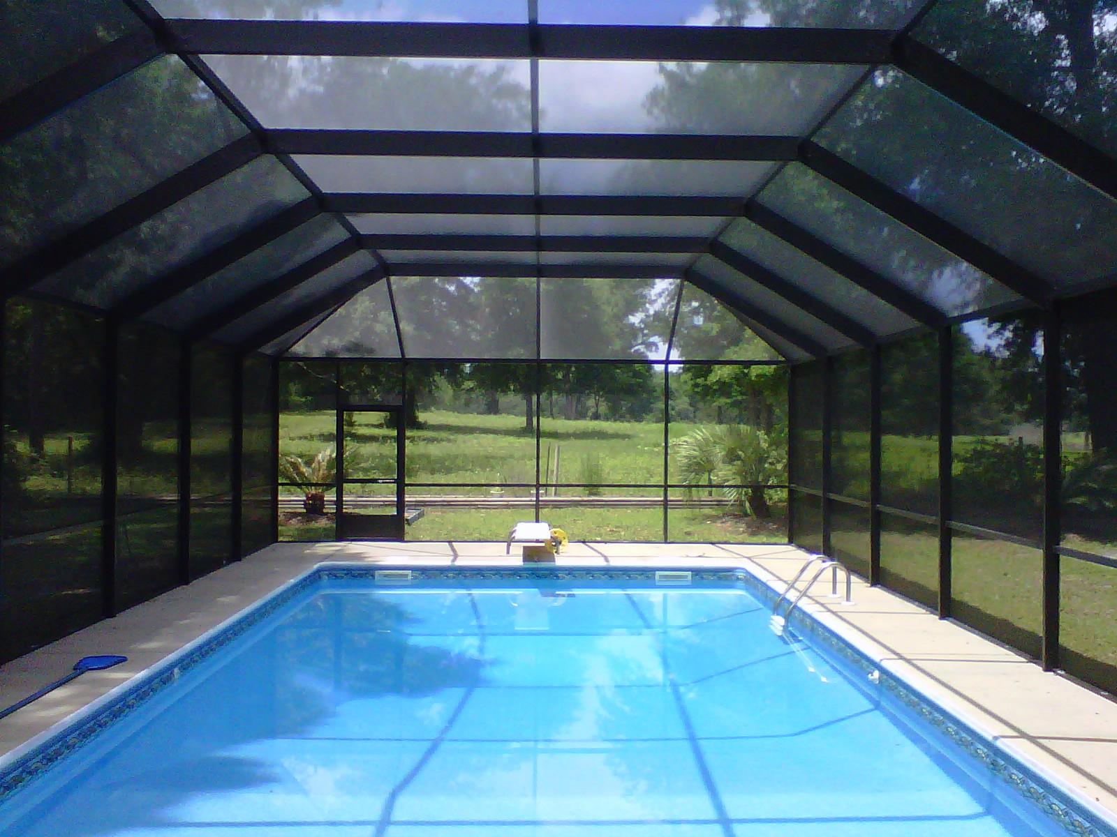 Pool Enclosures Usa Crawfordville Florida Pool Enclosure