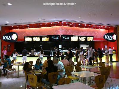 Tokai Express: Fachada da loja do Salvador Shopping