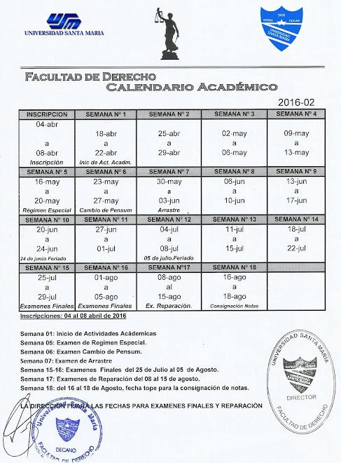 Calendario 2016-02