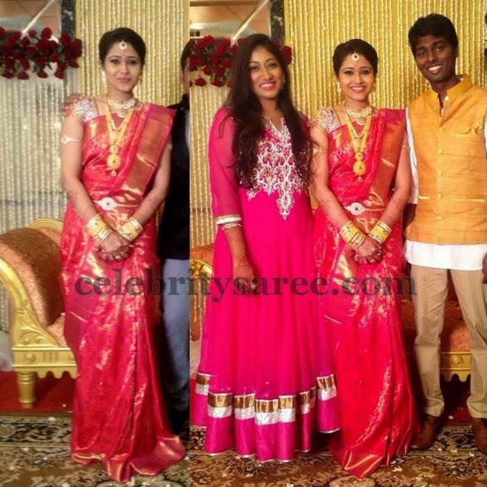 Priya Engagement Saree