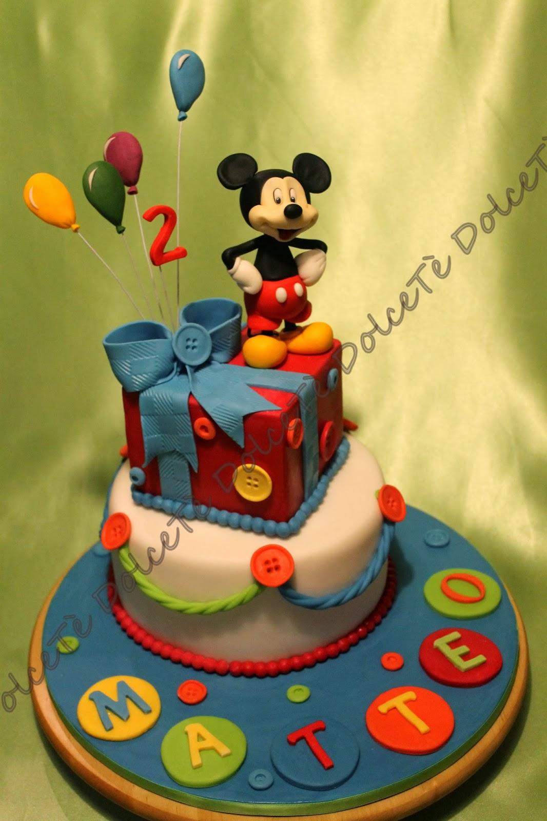 Dolcet e la dolce arte del cake design torta topolino for Arte delle torte clementoni