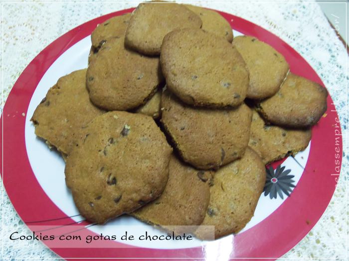 Cookies de baunilha