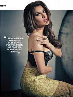 Sophie Choudry looks stunning for FHM India Magazine Pictureshoot Spicy Pics