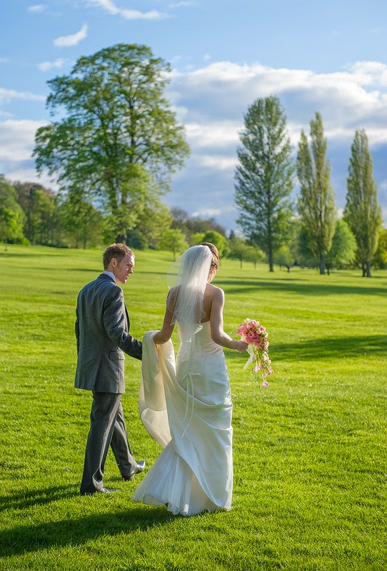 The lovely bride and groom. Photographed with a Nikon D3s