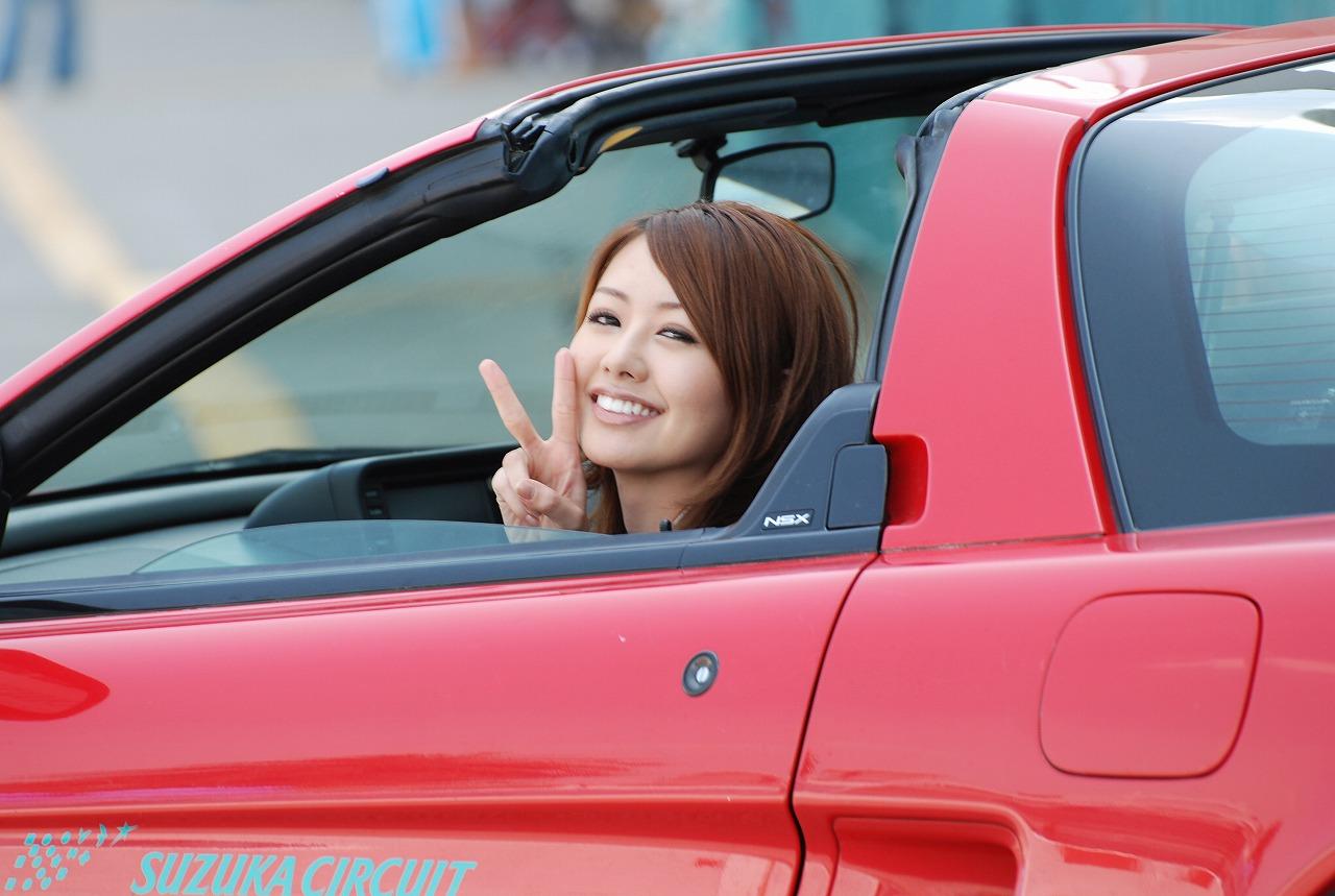 fotki panienek z samochodami, JDM, japonia, girls, honda nsx