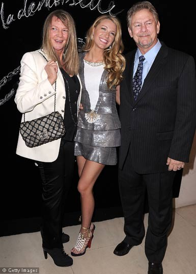 Blake Lively and Happy Parents