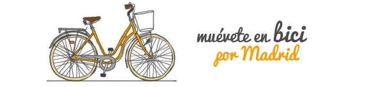 Muvete en bici por Madrid