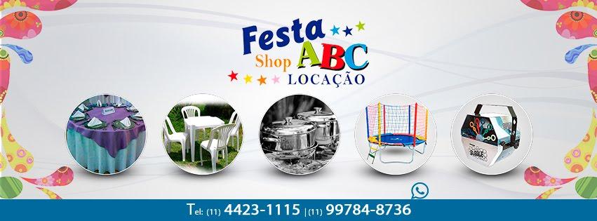 Festa Shop ABC tudo para sua festa LOCAÇÃO.