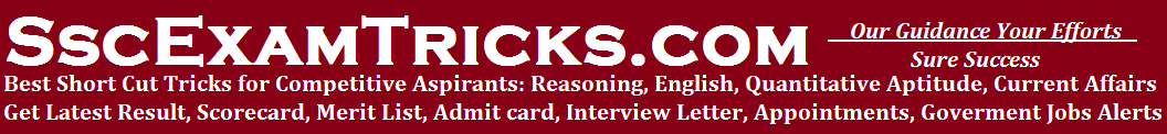SscExamTricks.com