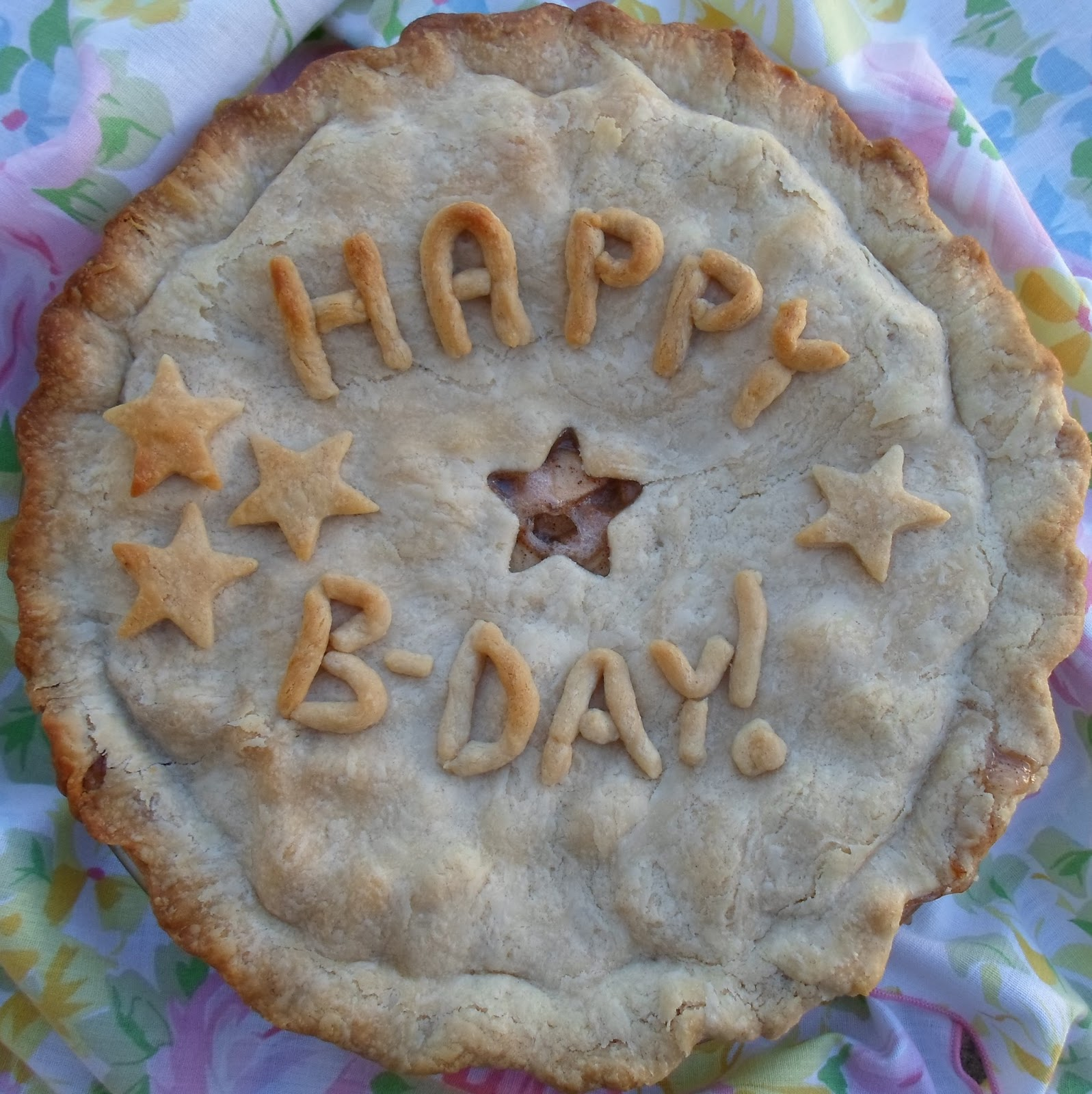 Happier Than A Pig In Mud Happy Birthday Pie 1
