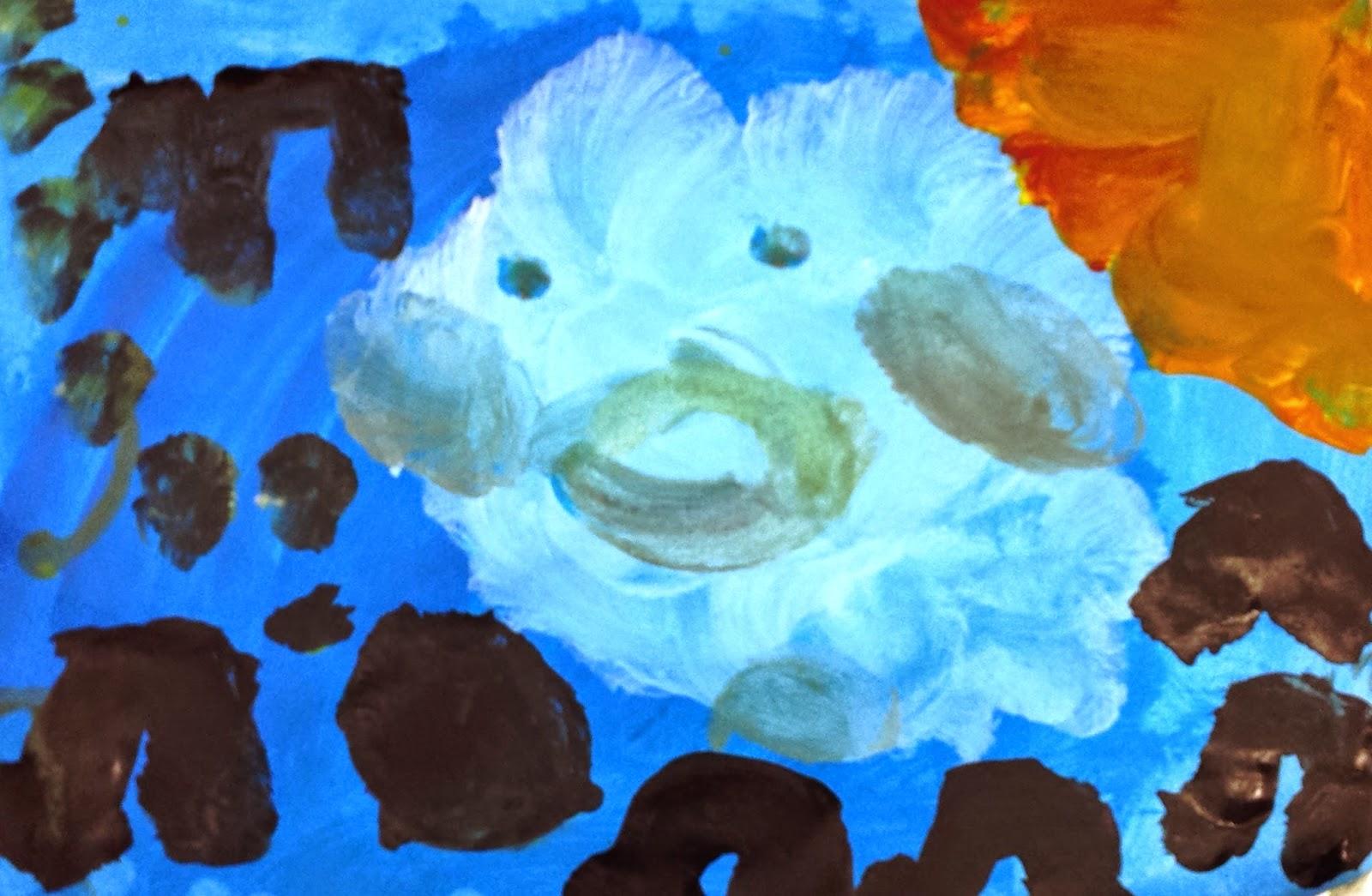 Dans la cour des petits: Des enfants et des nuages, des