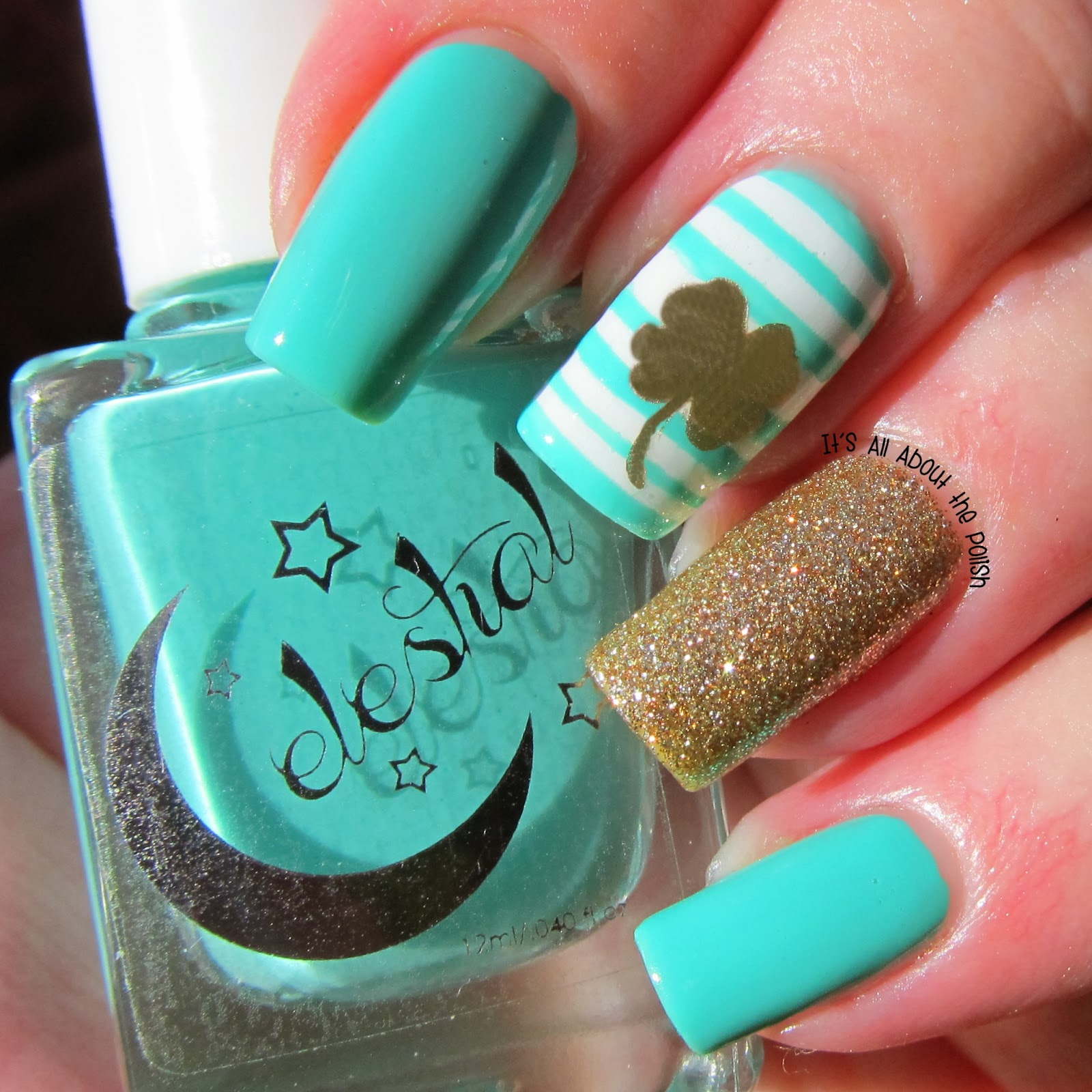 It\'s all about the polish: Two St Patrick\'s Day Nail Designs