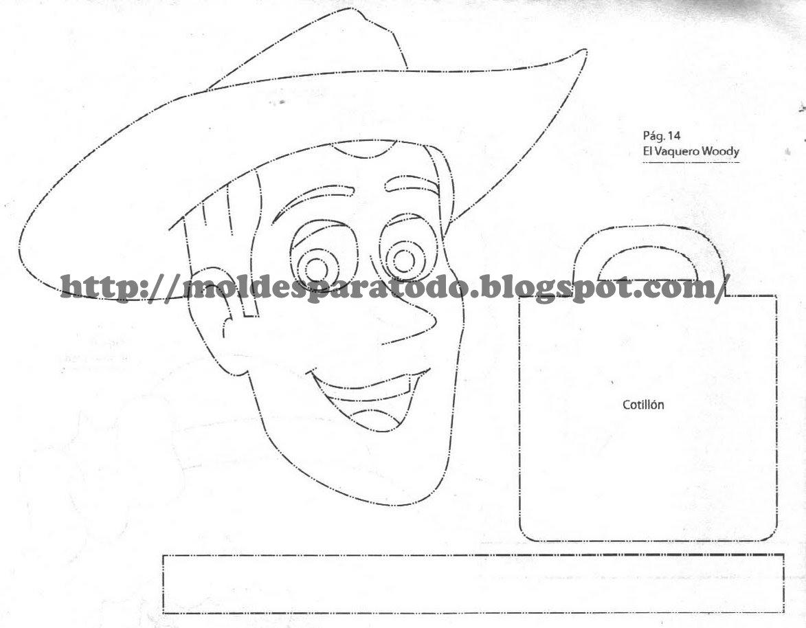 Dorable Página Para Colorear De Sombrero De Vaquero Ilustración ...