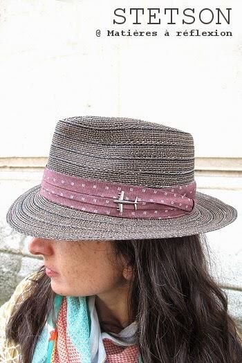 chapeau paille Stetson femme Maywood taupe brun toyo
