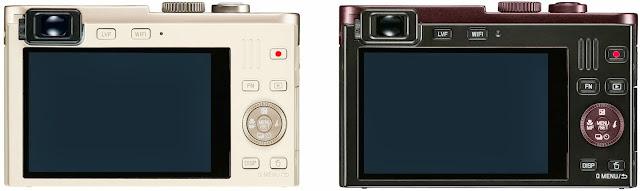 Il dorso della Leica C type 112