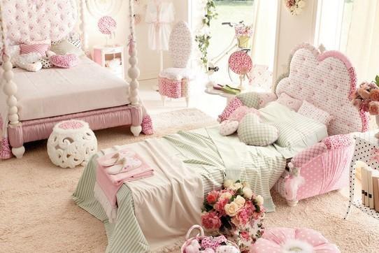Veamos a Kiss el lindo Dormitorio para chica adolescente en color rosa ...