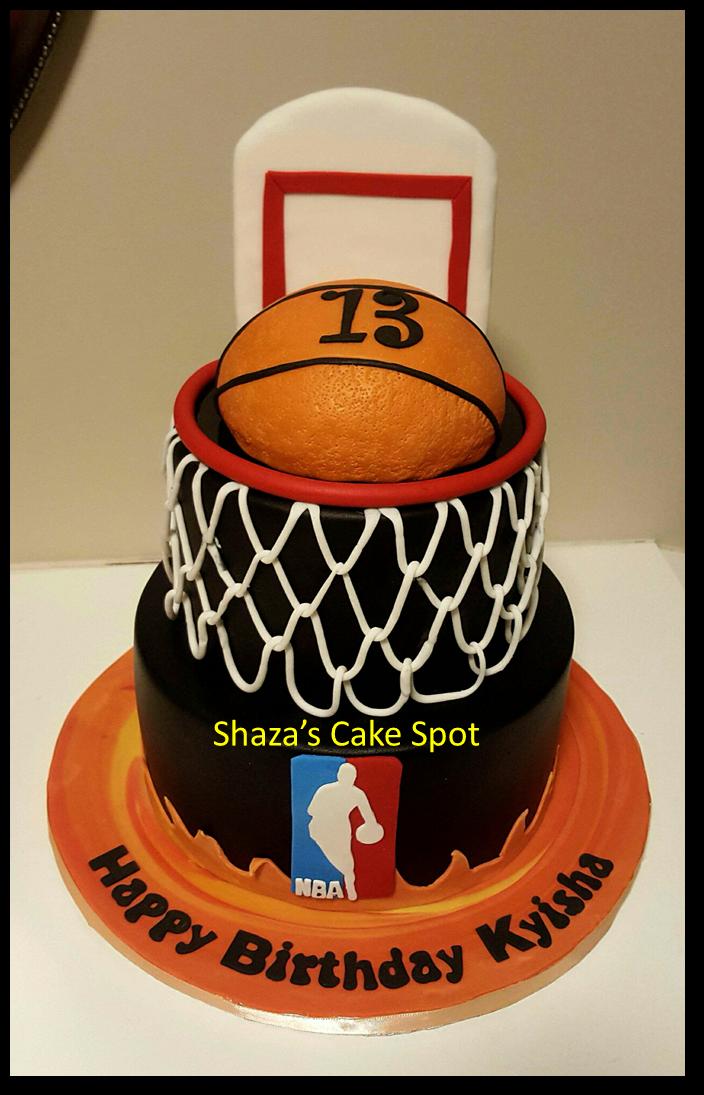 Birthday Cake For Basketball ~ November
