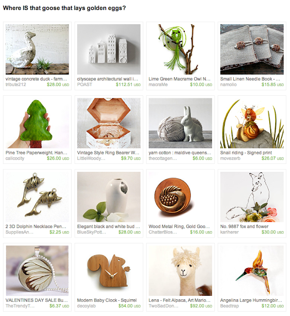 handmade nature and animal gifts
