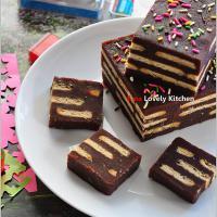 Resepi mudah kek batik biskuit marrie susu mesti sedap