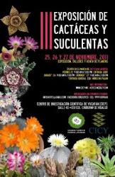 III Exposición de Cactáceas y Suculentas 2011