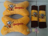 Bantal spongebob 2 in 1